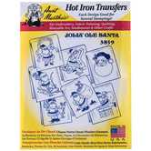 Jolly Ole Santa Hot Iron Transfers